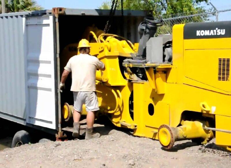 شحن أليات و معدات ثقيلة