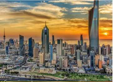 شحن من دبي إلى الكويت