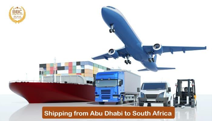 شحن من ابوظبي الي جنوب افريقيا