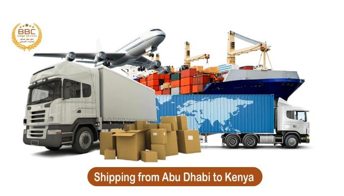 شحن من ابوظبي الي كينيا