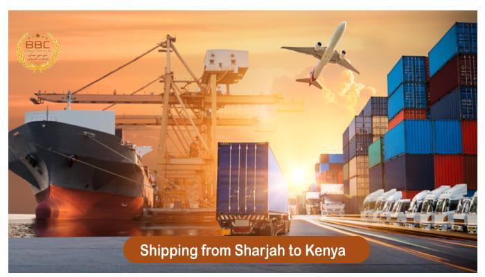 شحن من الشارقة الي كينيا