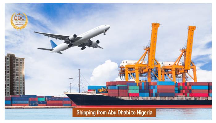 شحن من ابوظبي الي نيجيريا