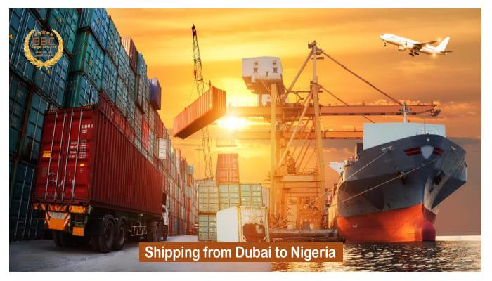 شحن من دبي الي نيجيريا