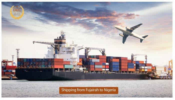 شحن من الفجيرة الي نيجيريا