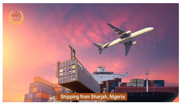 شحن من الشارقة الي نيجيريا