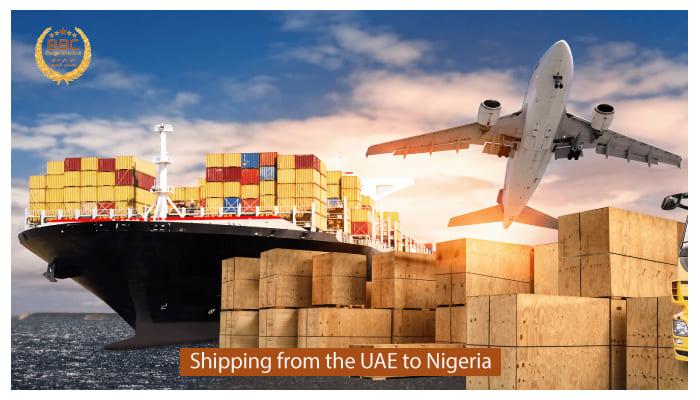 شحن من الامارات الي نيجيريا